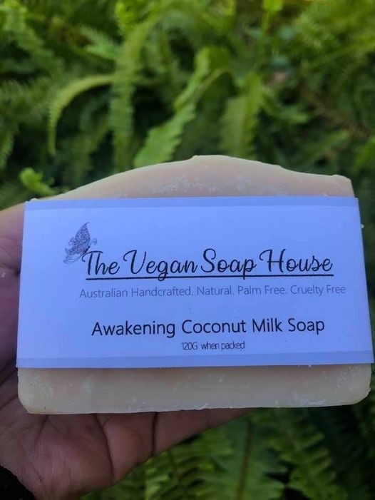 Vegan Soap House - Awakening Coconut Milk Soap 120gm
