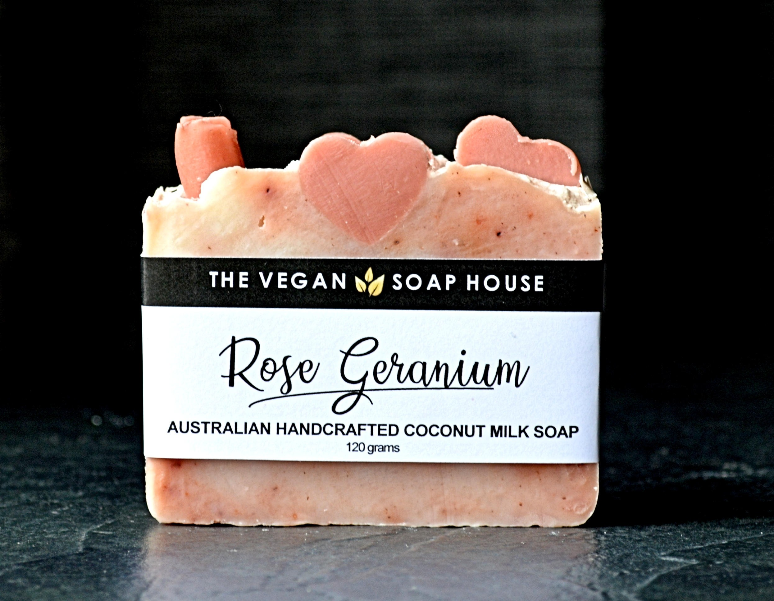 The Vegan Soap House Rose Geranium