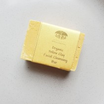 Organic Yellow Facial Cleansing Bar