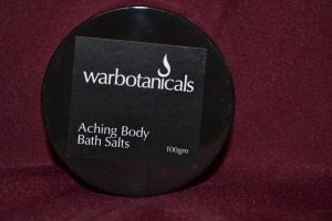Aching Body Bath Salts 100gm