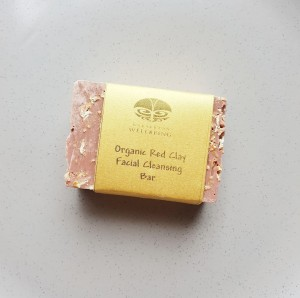 Organic Red Clay Facial Cleansing Bar
